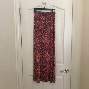 Cynthia Rowley Jersey Maxi Skirt